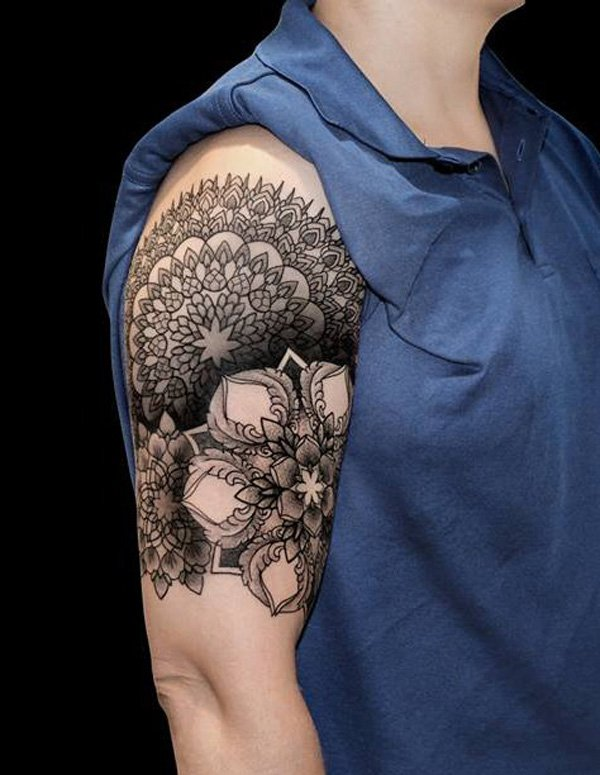Innovative Inspired Geometric Tattoos (14)