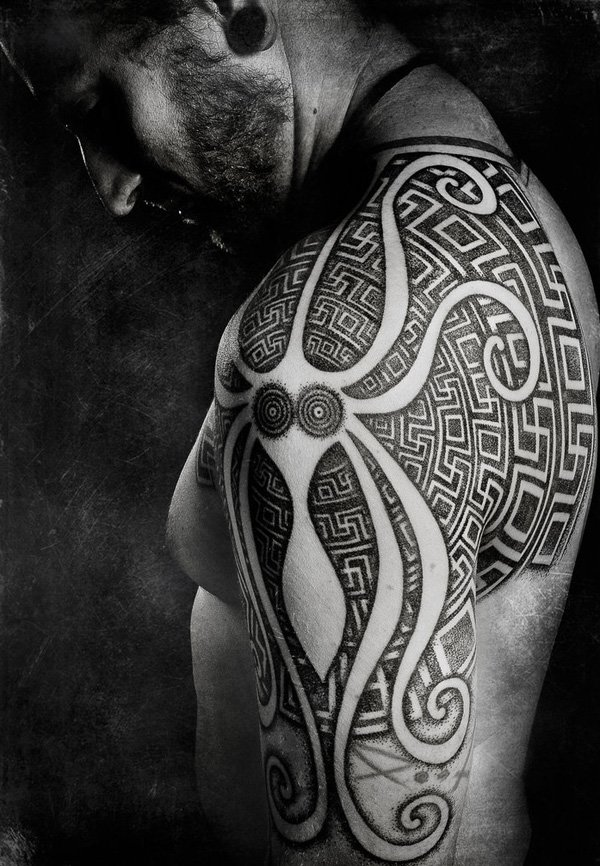 Innovative Inspired Geometric Tattoos (15)