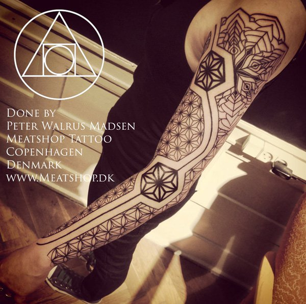 Innovative Inspired Geometric Tattoos (16)