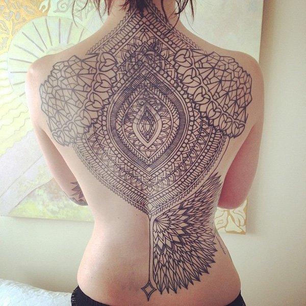 Innovative Inspired Geometric Tattoos (19)