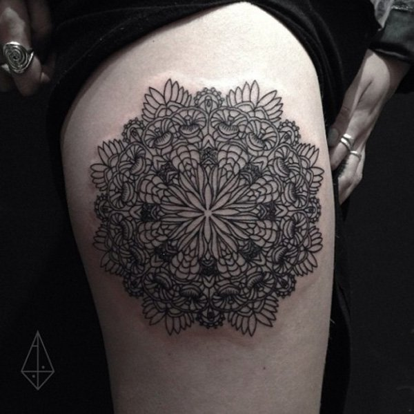 Innovative Inspired Geometric Tattoos (24)