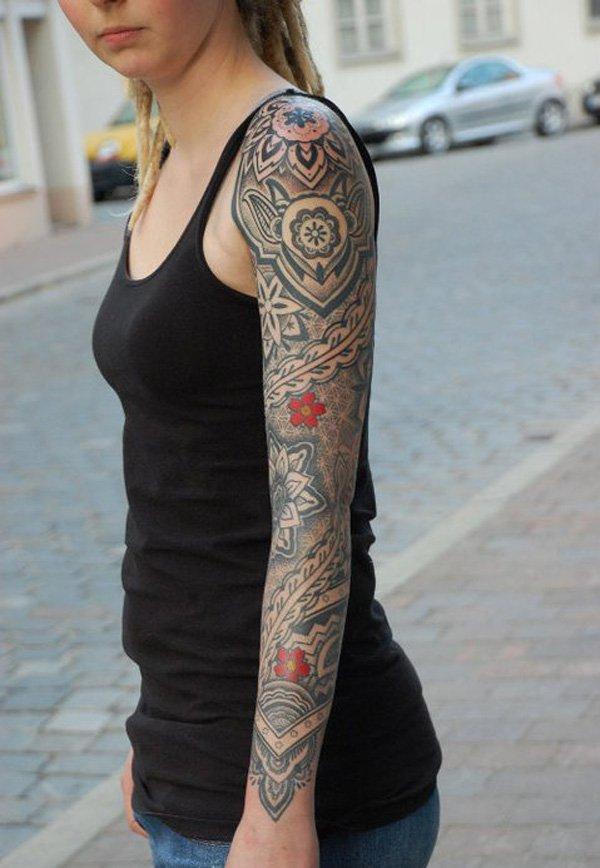 Innovative Inspired Geometric Tattoos (26)