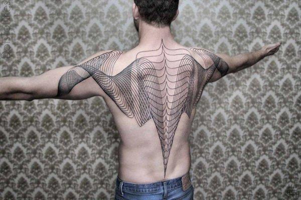 Innovative Inspired Geometric Tattoos (34)