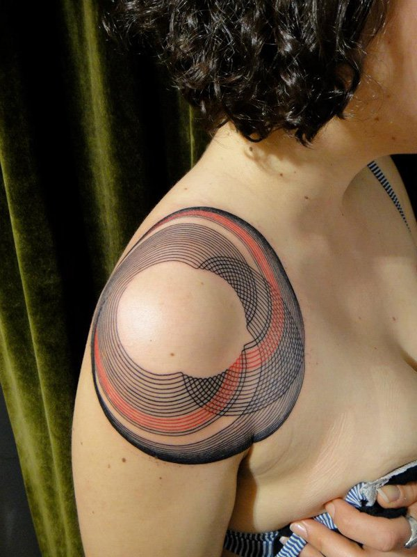 Innovative Inspired Geometric Tattoos (7)