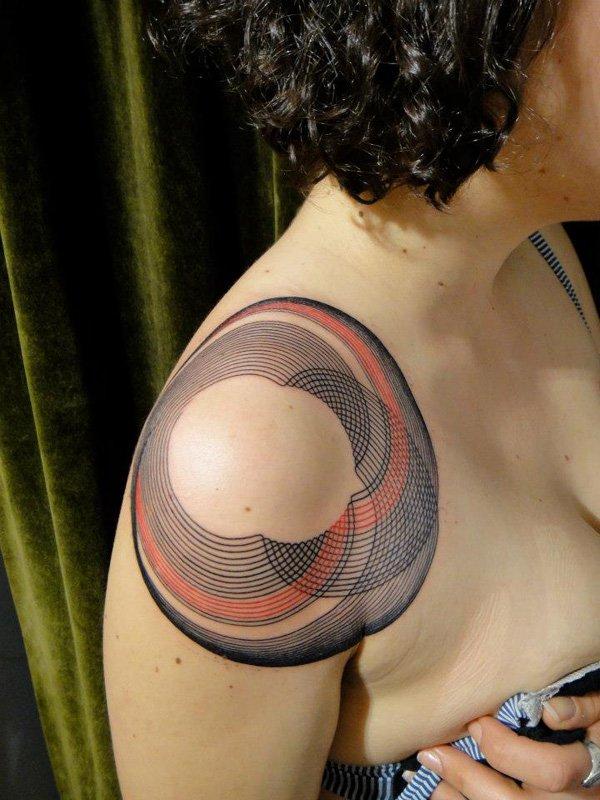 Innovative Inspired Geometric Tattoos (7)
