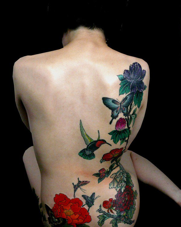 45 Most beautiful Peony tattoo Designs (15)