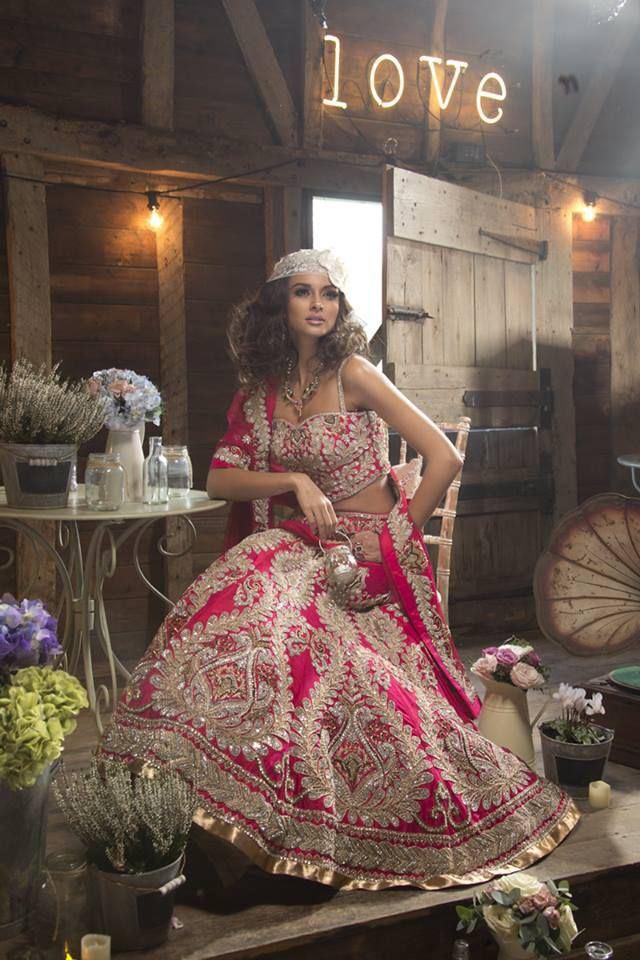 Beautiful Bridal Lehengas (6)