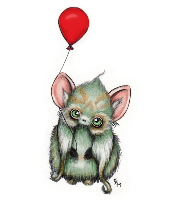 Cute Fluffy Creatures Illustration by Brea (6)