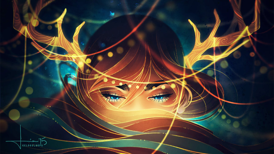 beautiful illustration by kelogsloops (8)
