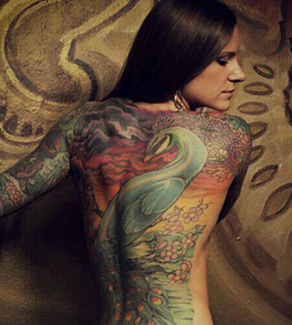 50 Outstanding Peacock tattoo designs (26)