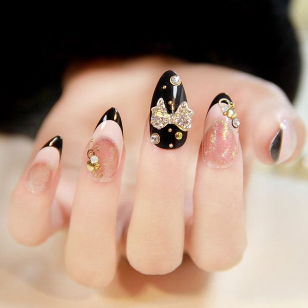55 Beautiful Japanese Nail Art Designs (12)