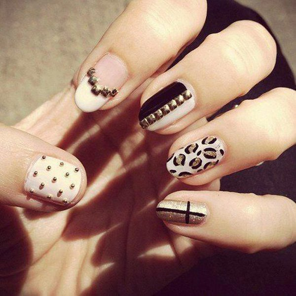 55 Beautiful Japanese Nail Art Designs (13)
