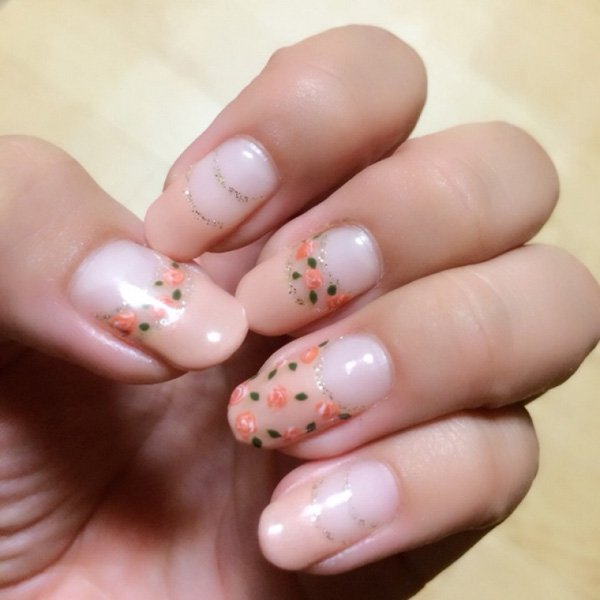 55 Beautiful Japanese Nail Art Designs (16)