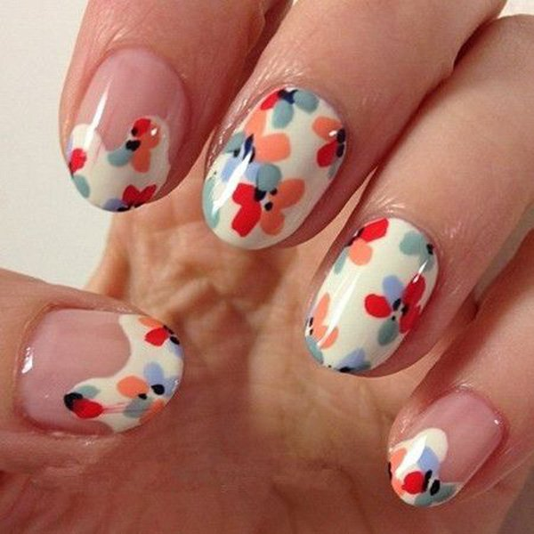 55 Beautiful Japanese Nail Art Designs (18)