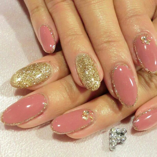 55 Beautiful Japanese Nail Art Designs (21)