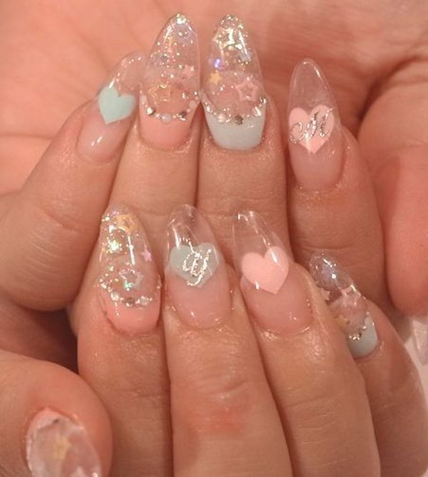 55 Beautiful Japanese Nail Art Designs (22)