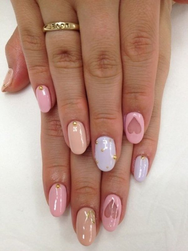 55 Beautiful Japanese Nail Art Designs (29)