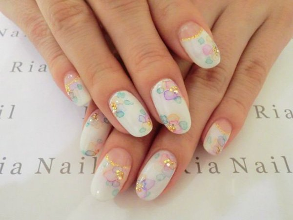 55 Beautiful Japanese Nail Art Designs (3)