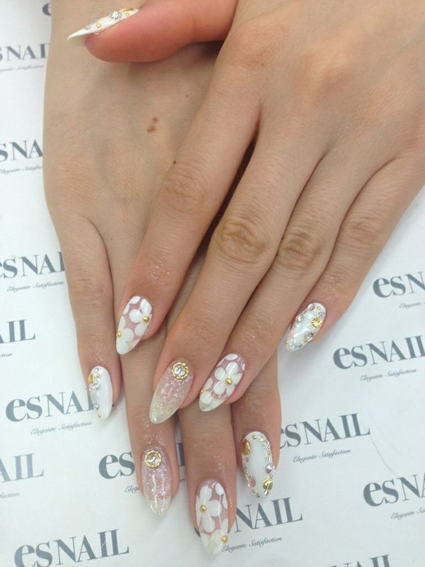 55 Beautiful Japanese Nail Art Designs (30)