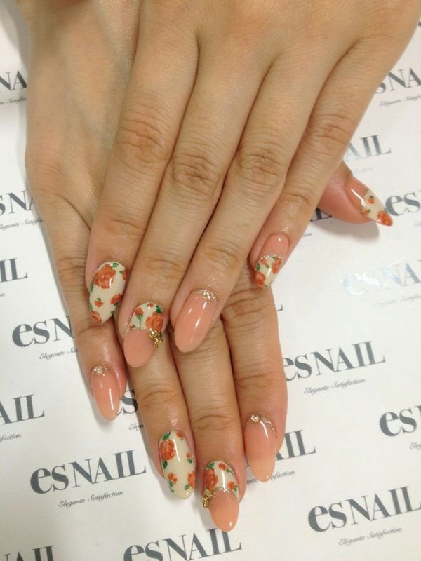 55 Beautiful Japanese Nail Art Designs (31)