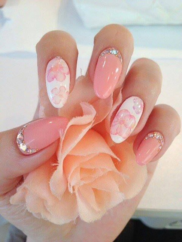 55 Beautiful Japanese Nail Art Designs (35)