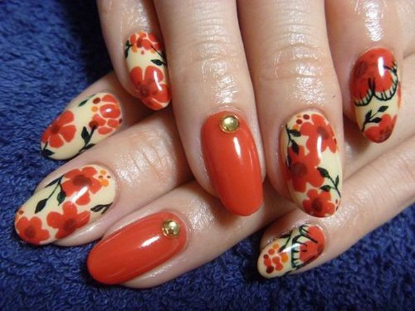 55 Beautiful Japanese Nail Art Designs (4)