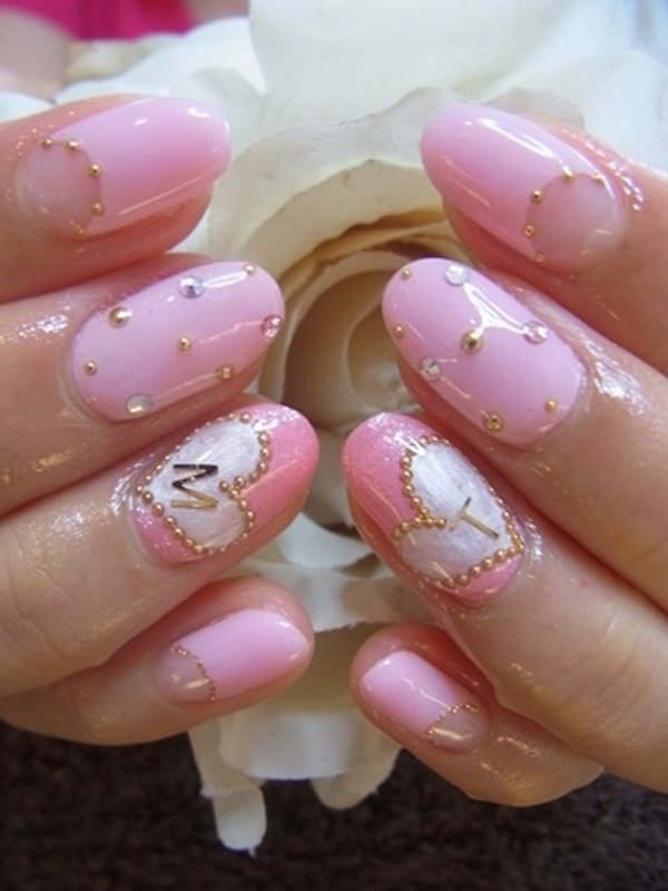55 Beautiful Japanese Nail Art Designs (47)