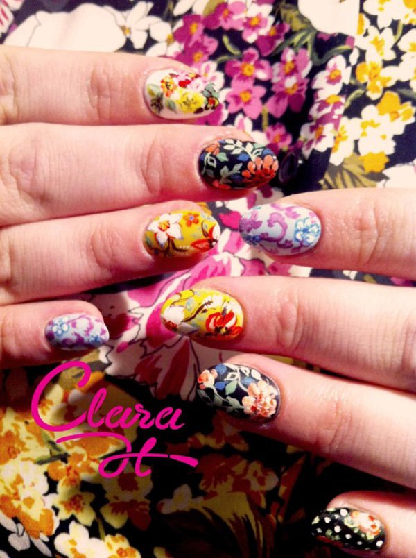 55 Beautiful Japanese Nail Art Designs (52)