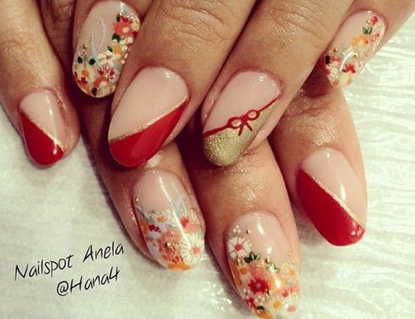 55 Beautiful Japanese Nail Art Designs (6)
