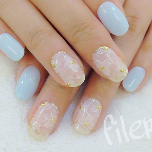 55 Beautiful Japanese Nail Art Designs (8)