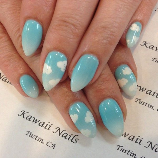 55 Beautiful Japanese Nail Art Designs (9)