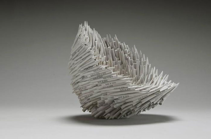 Beautiful Sculptures made from  Old Books by Jacqueline rush lee (11)