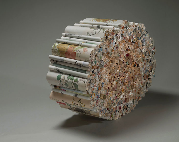 Beautiful Sculptures made from  Old Books by Jacqueline rush lee (13)