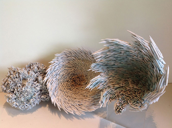 Beautiful Sculptures made from  Old Books by Jacqueline rush lee (14)