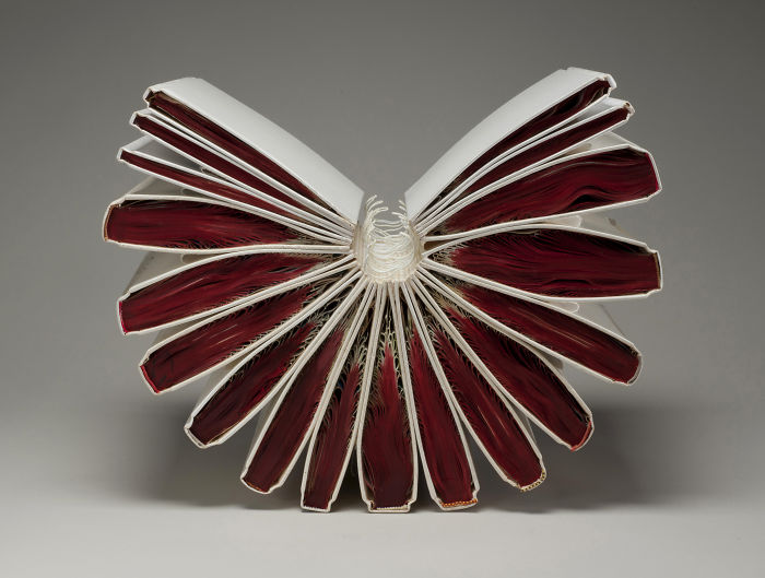 Beautiful Sculptures made from  Old Books by Jacqueline rush lee (15)
