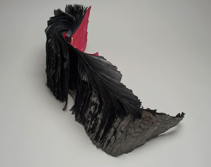 Beautiful Sculptures made from  Old Books by Jacqueline rush lee (16)