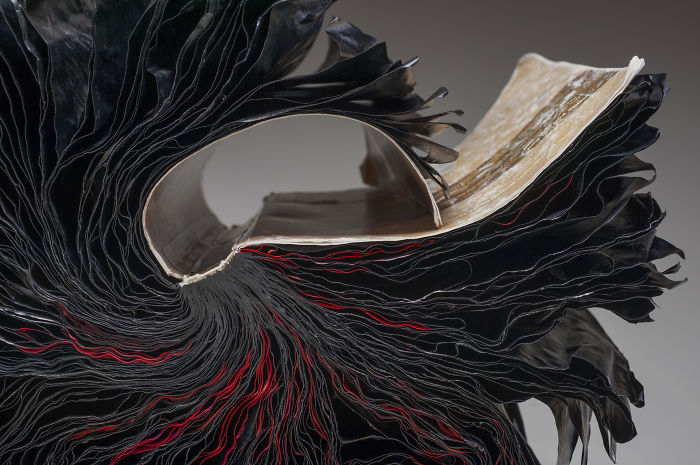 Beautiful Sculptures made from  Old Books by Jacqueline rush lee (2)
