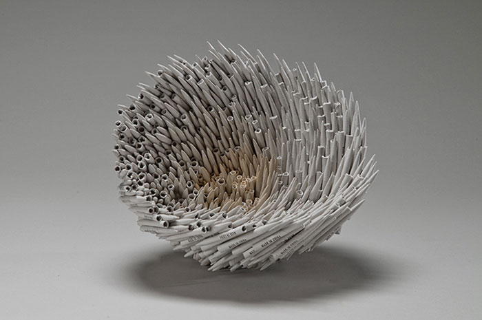 Beautiful Sculptures made from  Old Books by Jacqueline rush lee (4)