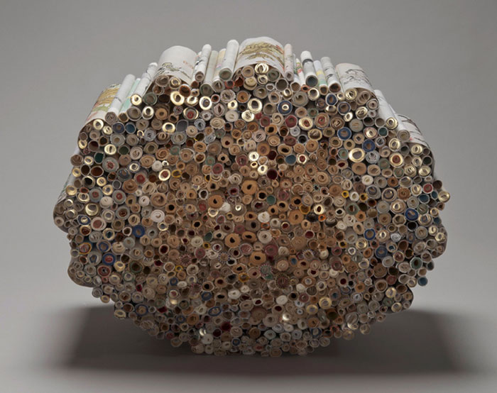 Beautiful Sculptures made from  Old Books by Jacqueline rush lee (5)