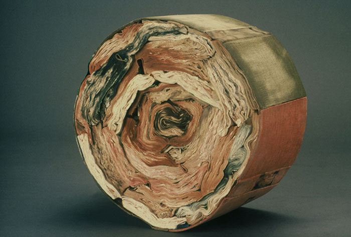 Beautiful Sculptures made from  Old Books by Jacqueline rush lee (7)