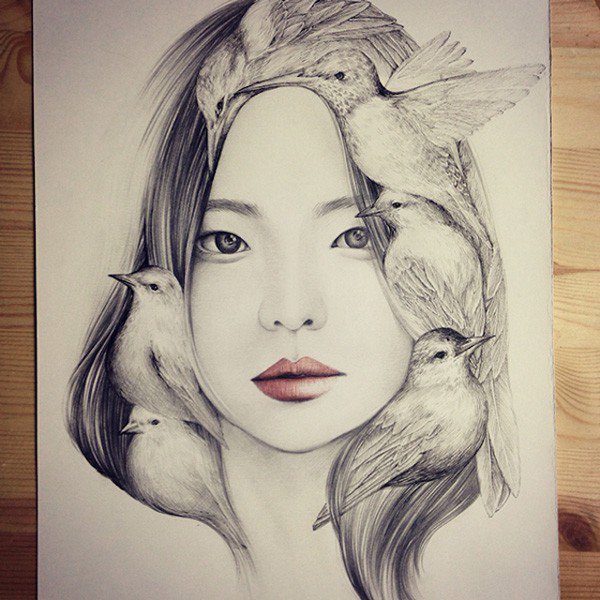 Capricious Drawings by OkArt (1)