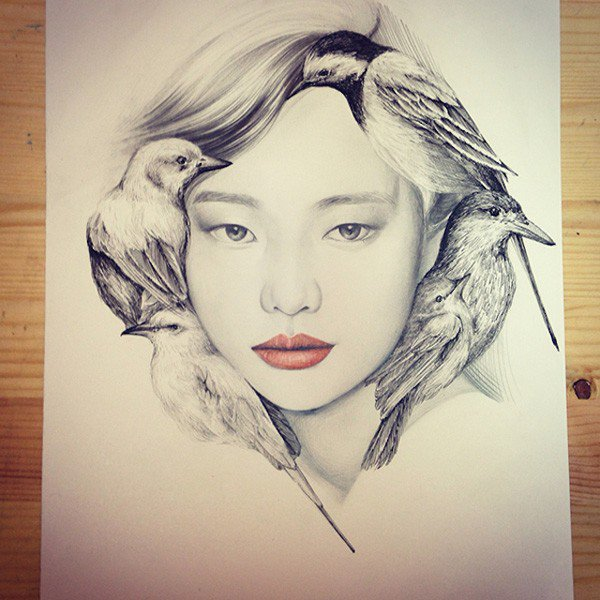Capricious Drawings by OkArt (2)