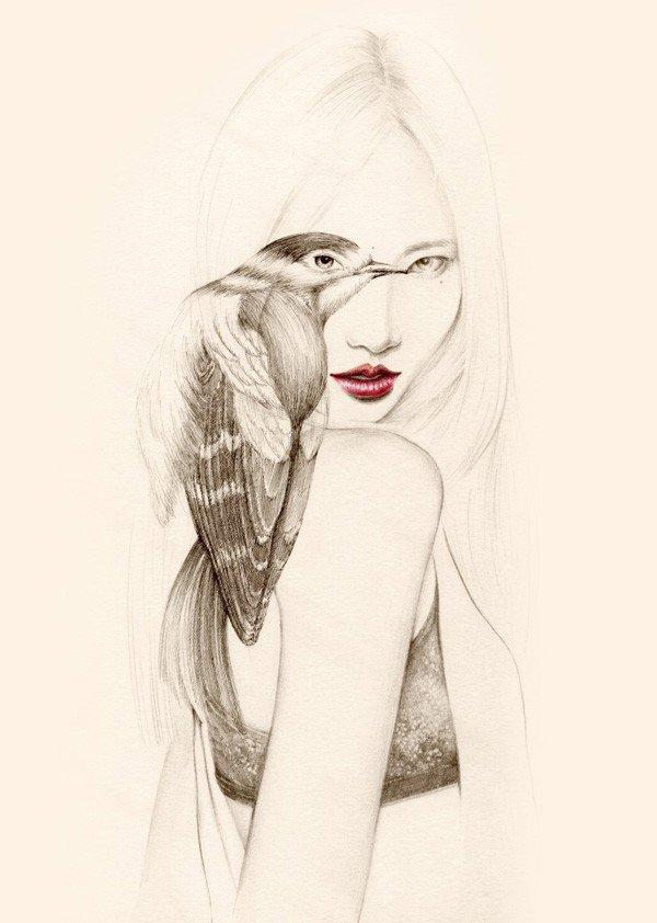 Capricious Drawings by OkArt (5)