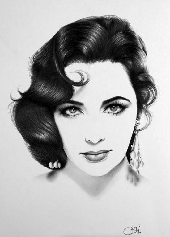 Graphite Portraits By Ileana Hunter (2)