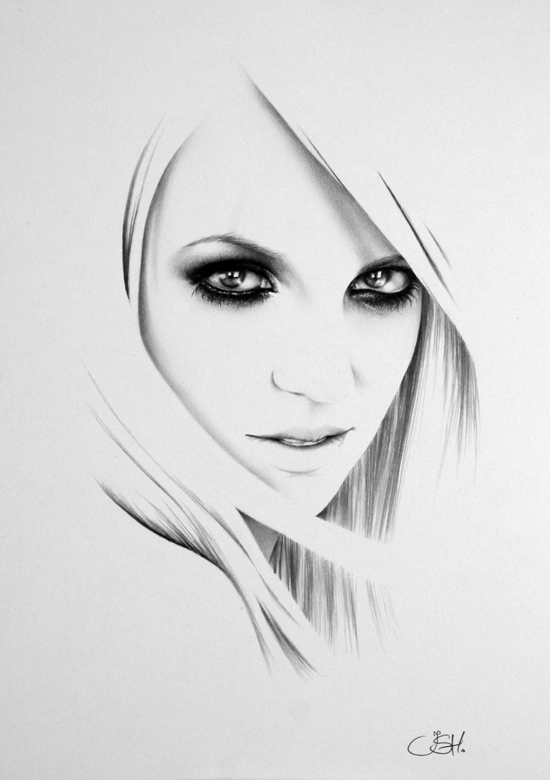 Graphite Portraits By Ileana Hunter (3)