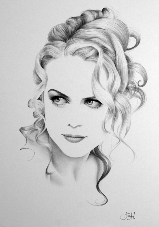 Graphite Portraits By Ileana Hunter (4)