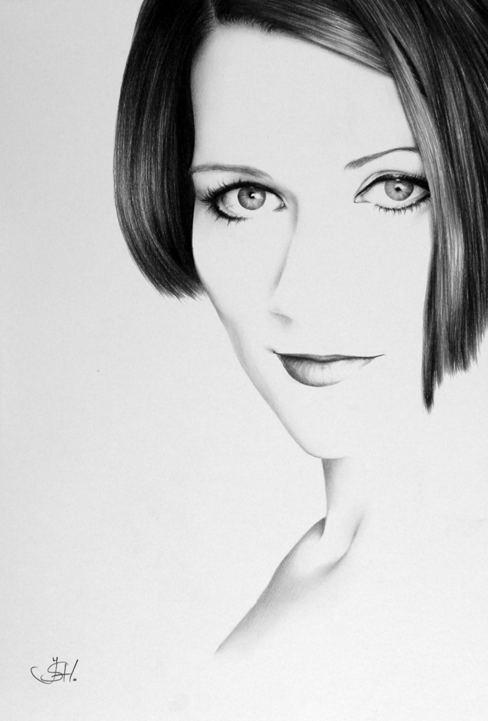 Graphite Portraits By Ileana Hunter (5)