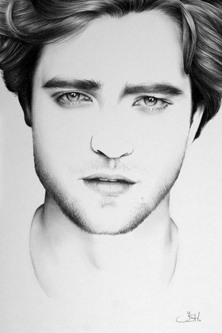 Graphite Portraits By Ileana Hunter (6)