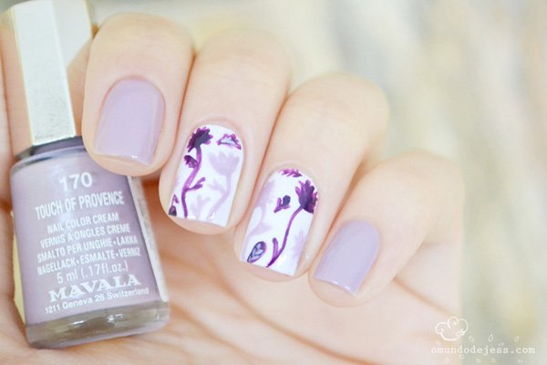 Cute Dandelion Nail Art Designs (4)