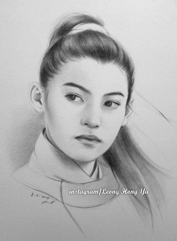 beautiful Pencil Drawings by Leong Hong Yu (10)